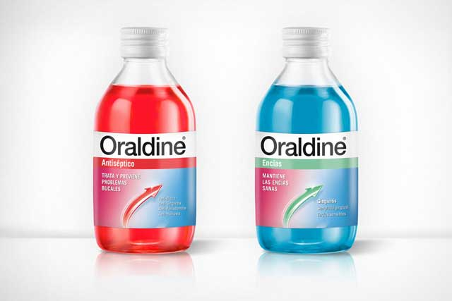 Packaging Oraldine 2