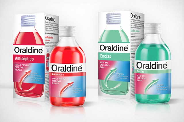 Packaging Oraldine 1