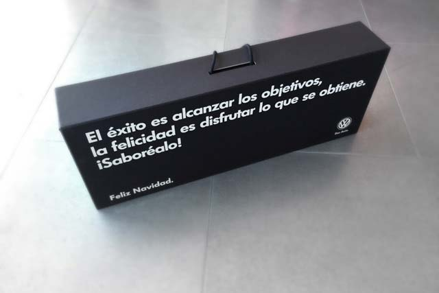 packaging Volkswagen nadal 2014 2